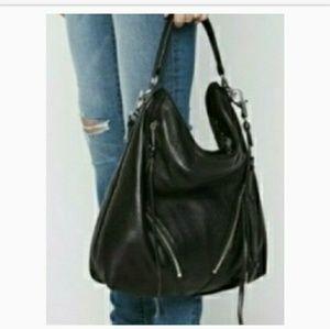 Rebecca Minkoff Flash Sale Suede Moto Hobo Bag